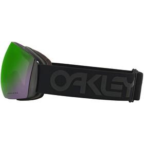 Oakley Flight Deck Gafas de esquí Hombre, black/w prizm jade iridium